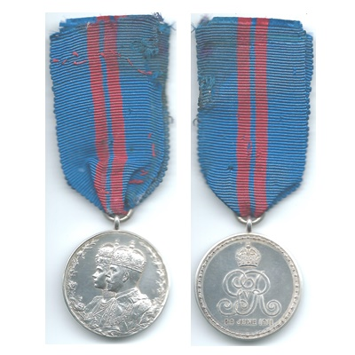 1911 Coronation Medal - Un-Named