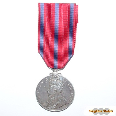 1911 Coronation (Police) Medal - PC. W Edwards
