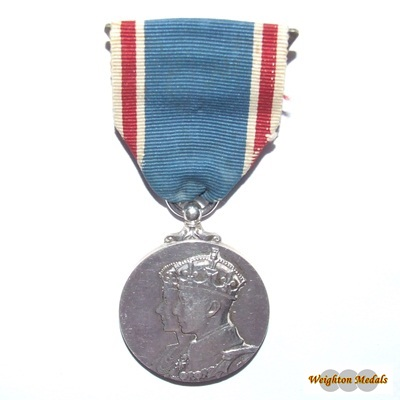 1937 George VI Coronation Medal