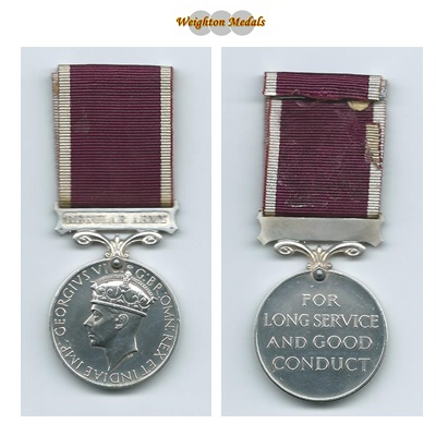 Army Long Service & Good Conduct - R Briant