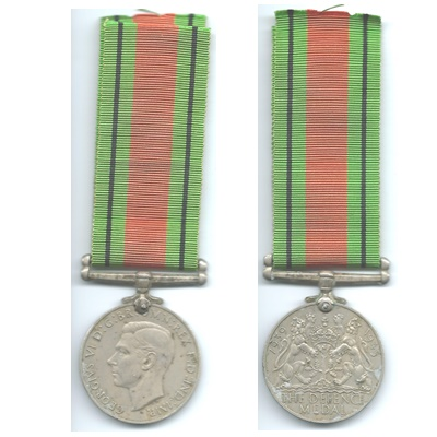 The Defence Medal - A S Meintjes