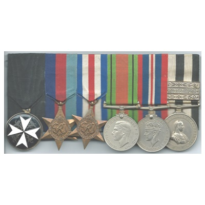 WWII - Order Of St John - Group of 6 Medals - E M COLEMAN