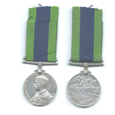 India General Service Medal 1910-1930 - Un-Named