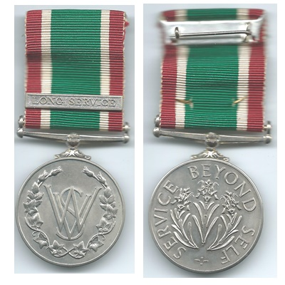 WRVS Long Service Medal - Additional 15 Year Bar