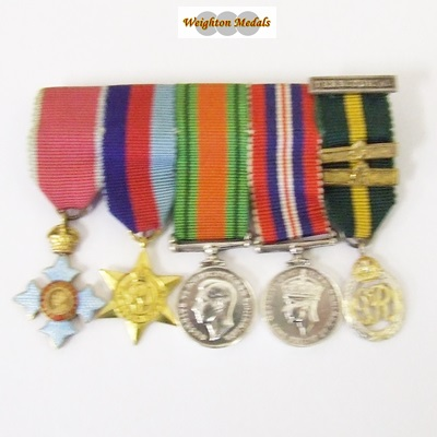 Miniature Medals : Weighton Medals, British & Colonial Medal Specialists