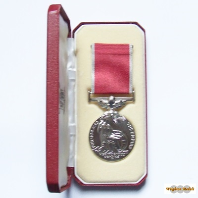 British Empire Medal ER II - Civil - Arthur Gourlay MILL