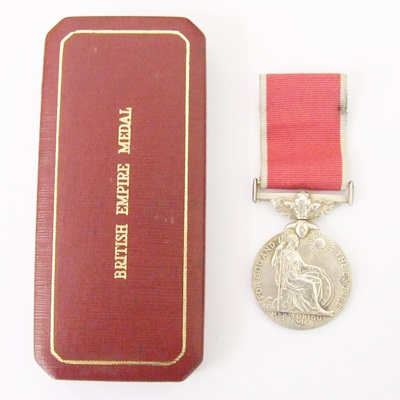 British Empire Medal George VI Civil - James Matthew Wallingham