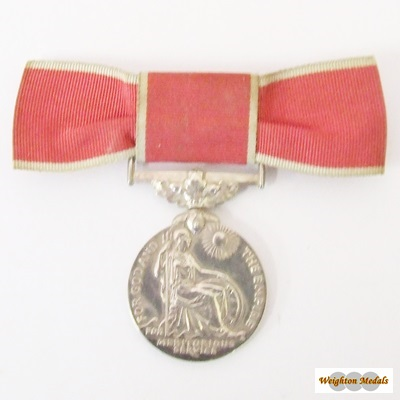 British Empire Medal George VI - Civil - Mrs K Livingstone