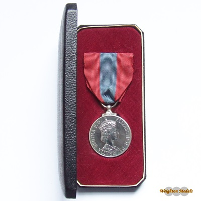 Imperial Service Medal ERII DEI:GRATIA - Frank CARNELL