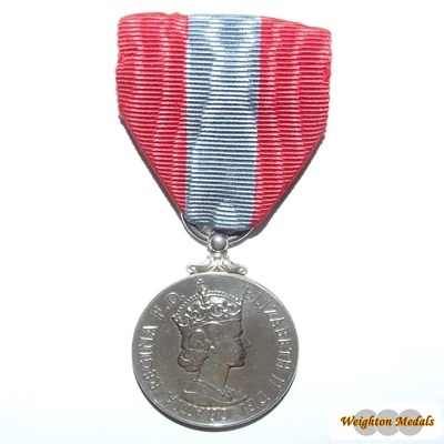 Imperial Service Medal - QEII - George Arnott