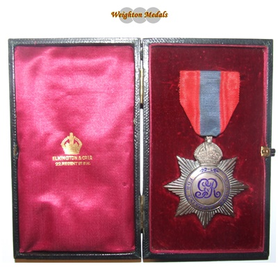 Imperial Service Medal - GV Star - Edward Read
