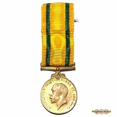 Territoria Force War Medal Miniature
