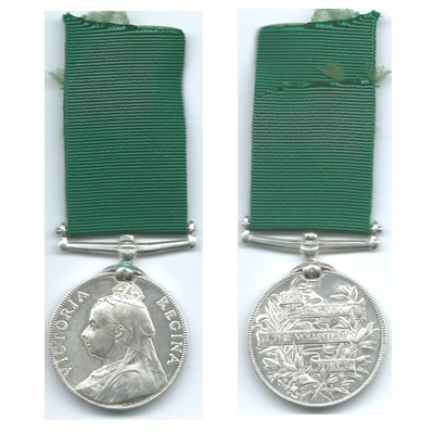 Volunteer Long Service Medal - GR William Gibson